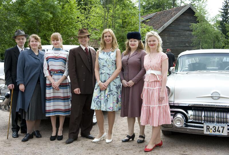 1950-tallet iscenesatt på Norsk Folkemuseum i 2010. (Foto/Photo)