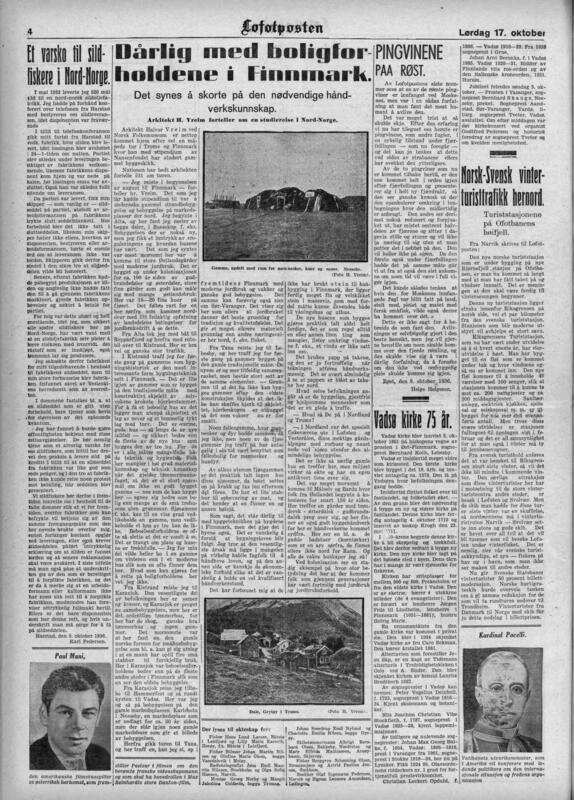 Lofotposten 1936 (Foto/Photo)