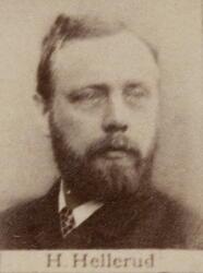 Justermester Johan S. Hellerud (1850-1936) (Foto/Photo)