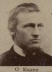 Sjakthauer Olaus T. Raaen (1855-1940) (Foto/Photo)