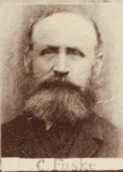 Kontorassistent smeltehytta Carl R. Fusche (1843-1924) (Foto/Photo)