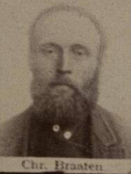 Sjakthauer Christian H. Braaten (1848-1917) (Foto/Photo)