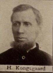 Sjakthauer Halvor T. Kongsgården (1855-1901) Omkom ved fall i Kongens gruve (Foto/Photo)