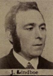 Sjakthauer Johan J. Lindboe (1856-1930) (Foto/Photo)
