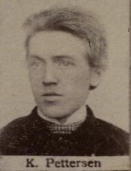 Smedsvenn Karl Pettersen, født 1864. Utvandret til Amerika 1906 (Foto/Photo)