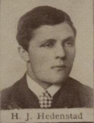 Borhauer Hans Jacob Hedenstad (1868-1927) (Foto/Photo)