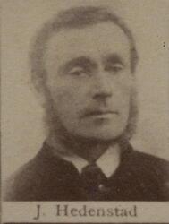 Dagvarter Johan J. Hedenstad (1834-1920) (Foto/Photo)