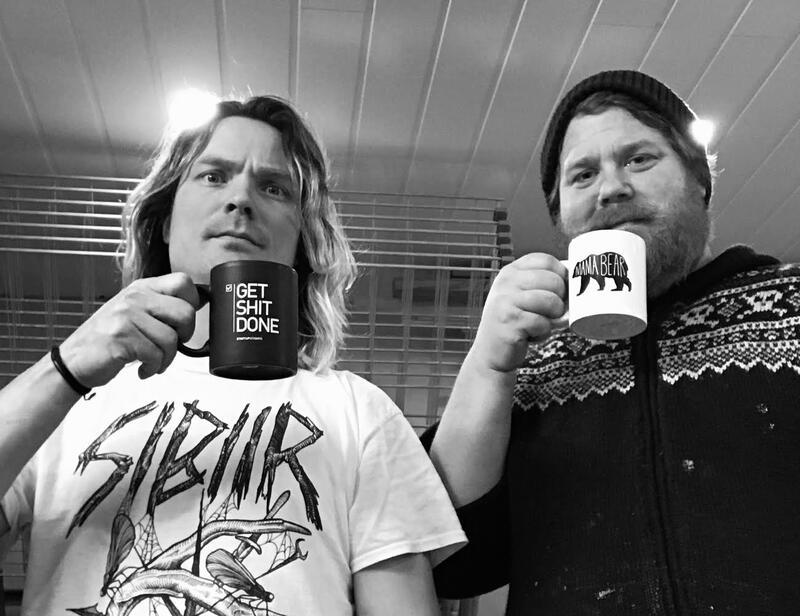 Martin Hvassing (t.v.) og Kenneth Apeland (Foto/Photo)