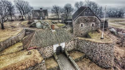 Kongsten_Fort_-_Dronefoto.jpeg. Foto/Photo