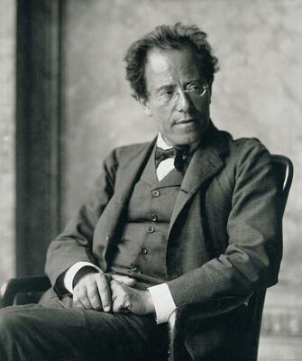 Photo_of_Gustav_Mahler_by_Moritz_Nahr_01.jpg. Foto/Photo