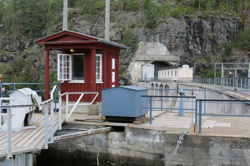 Haldenkanalen, Brekke sluser (Foto/Photo)