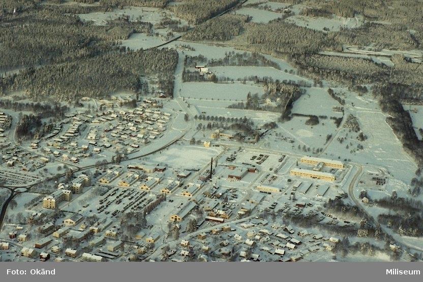 Eksjö garnison.  I 12 smålandsbrigaden kasern, Swedec, lagerlunda.