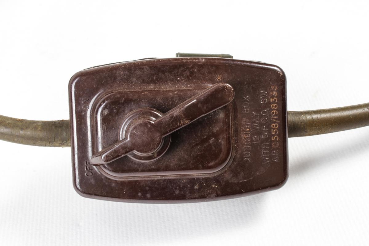 Hodetelefon med mikrofon.