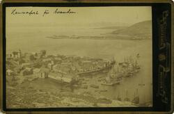 Hammerfest før branden.