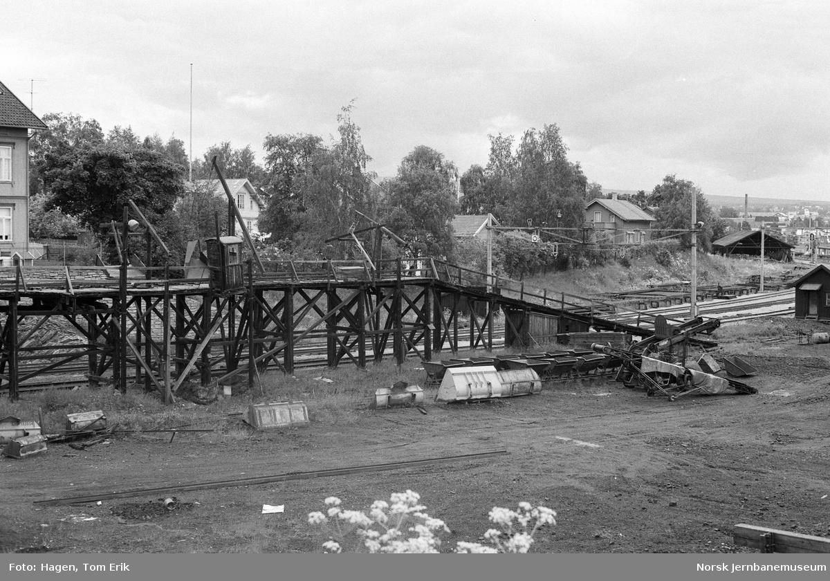 Kullingsanlegg for damplokomotiver på Hamar stasjon