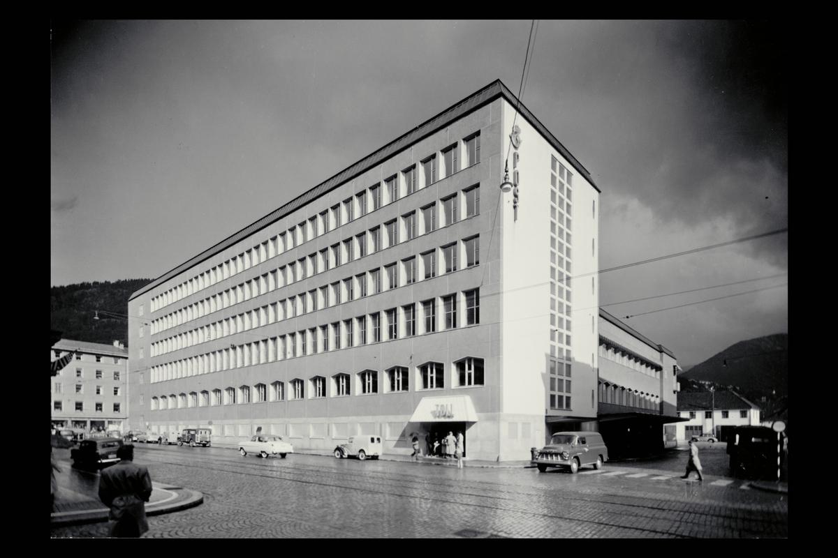eksteriør, postkontor, 5000 Bergen postkontor.