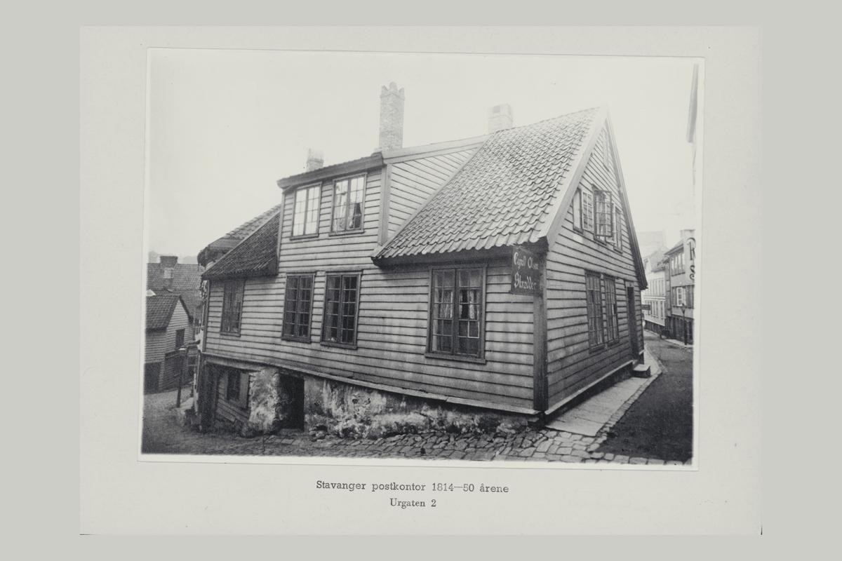 eksteriør, postkontor, Stavanger, Urgaten 2
