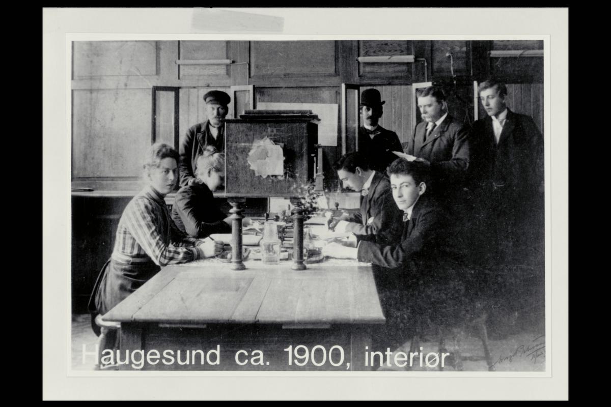 interiør, postkontor, 5500 Haugesund, personale