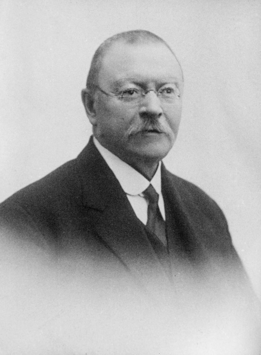 portrett, postmester, Carl Ludvig Røtter