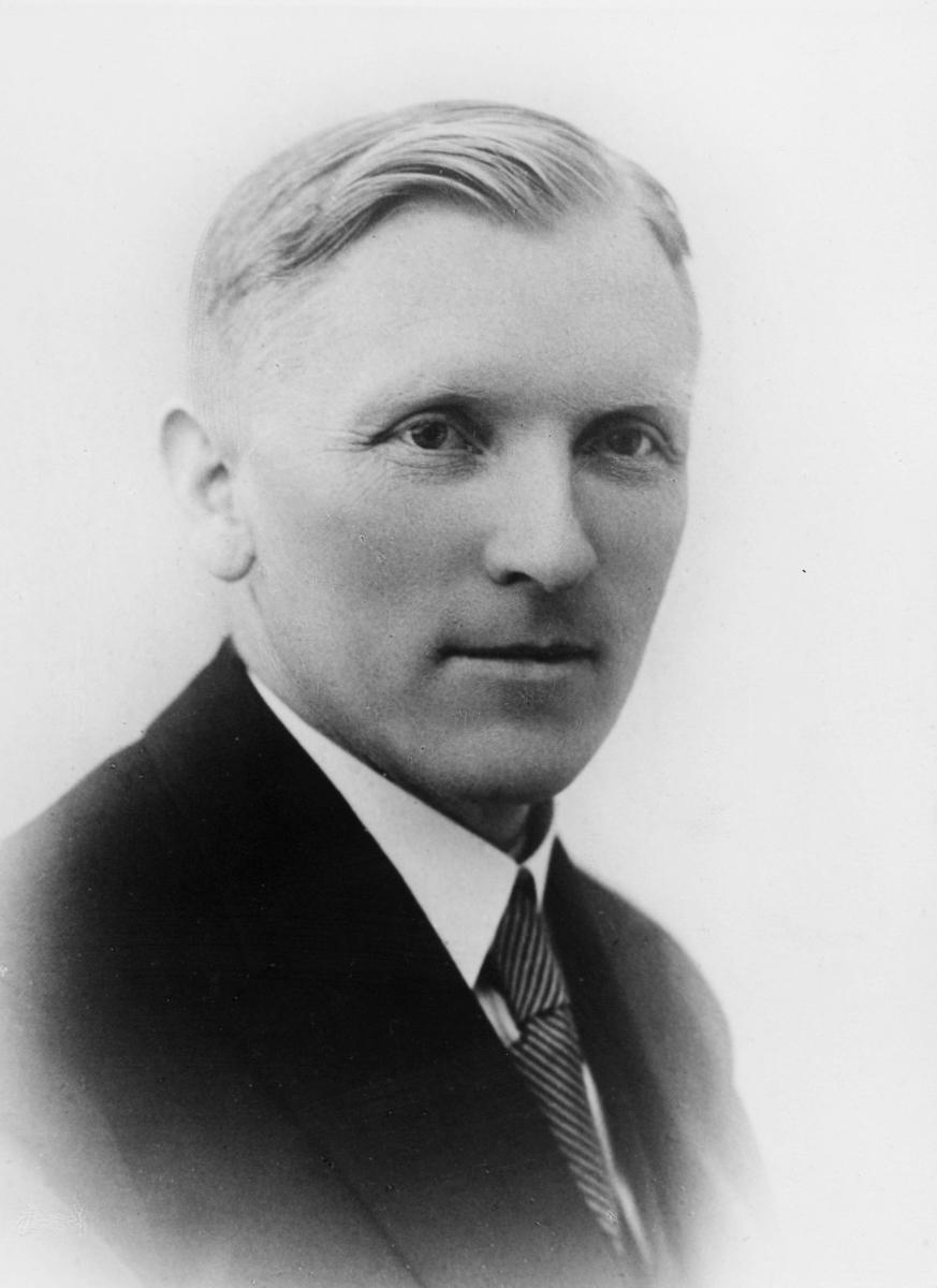postinspektør, Homme Oskar Gabriel, portrett