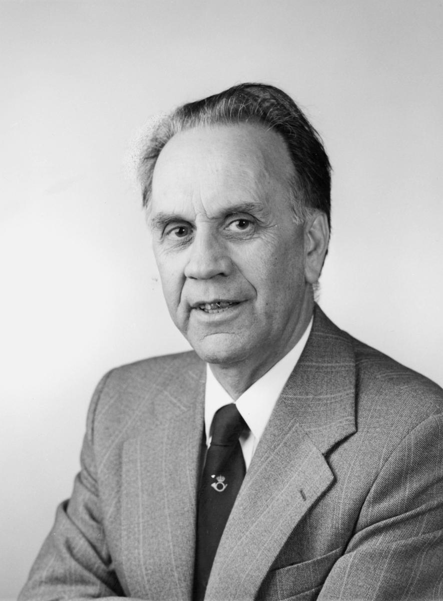 postmester, Andersen Haldorf Atle, portrett