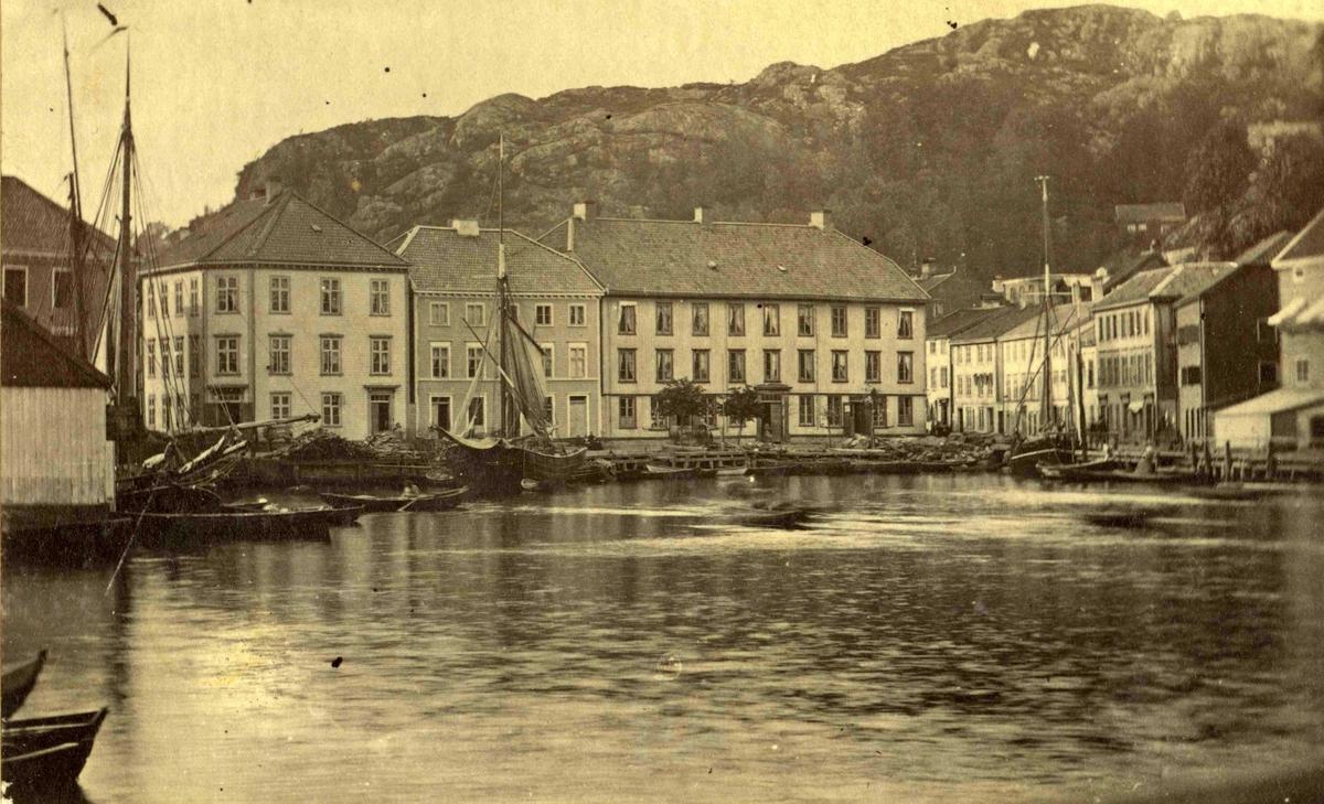 Arendal og omegn - Fra John Ditlef  Fürst fotoalbum - Kirkegaten - AAks 44 - 4 - 7 - Bilde nummer 26