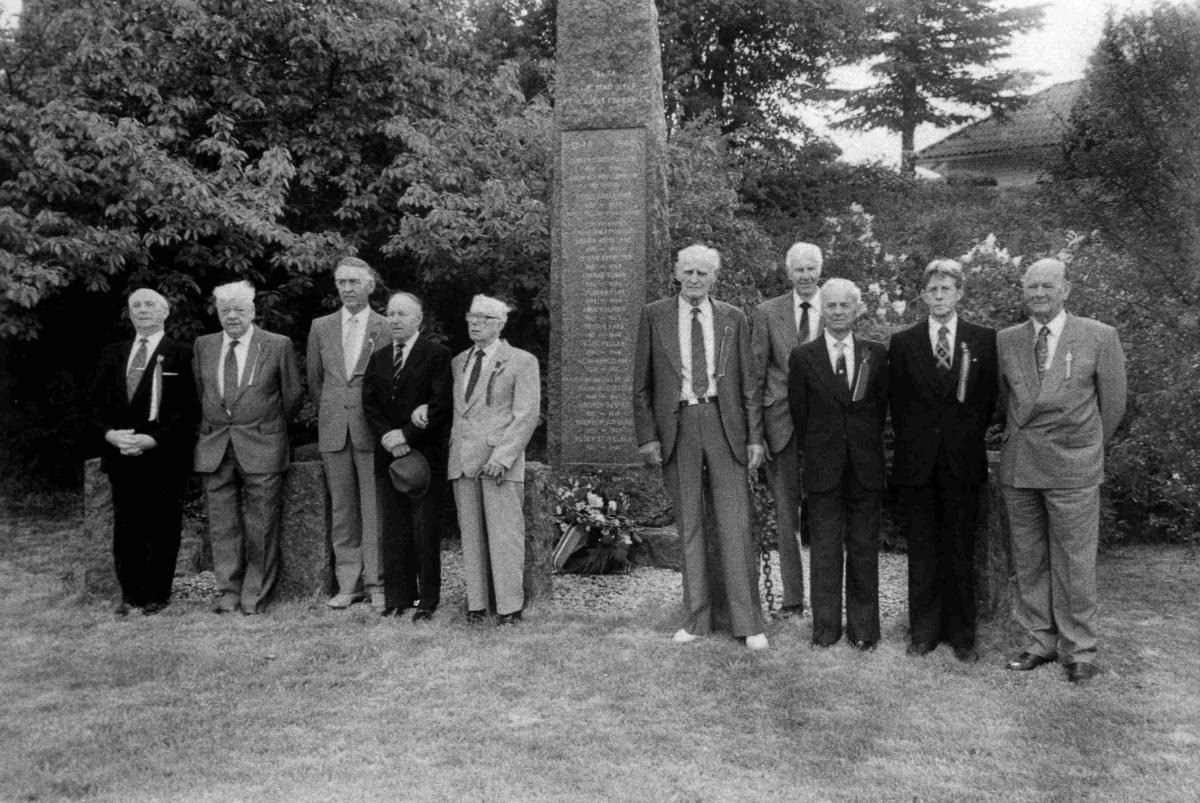Bilder fra Birkenes kommune Gjenlevende krigsfanger i 1990