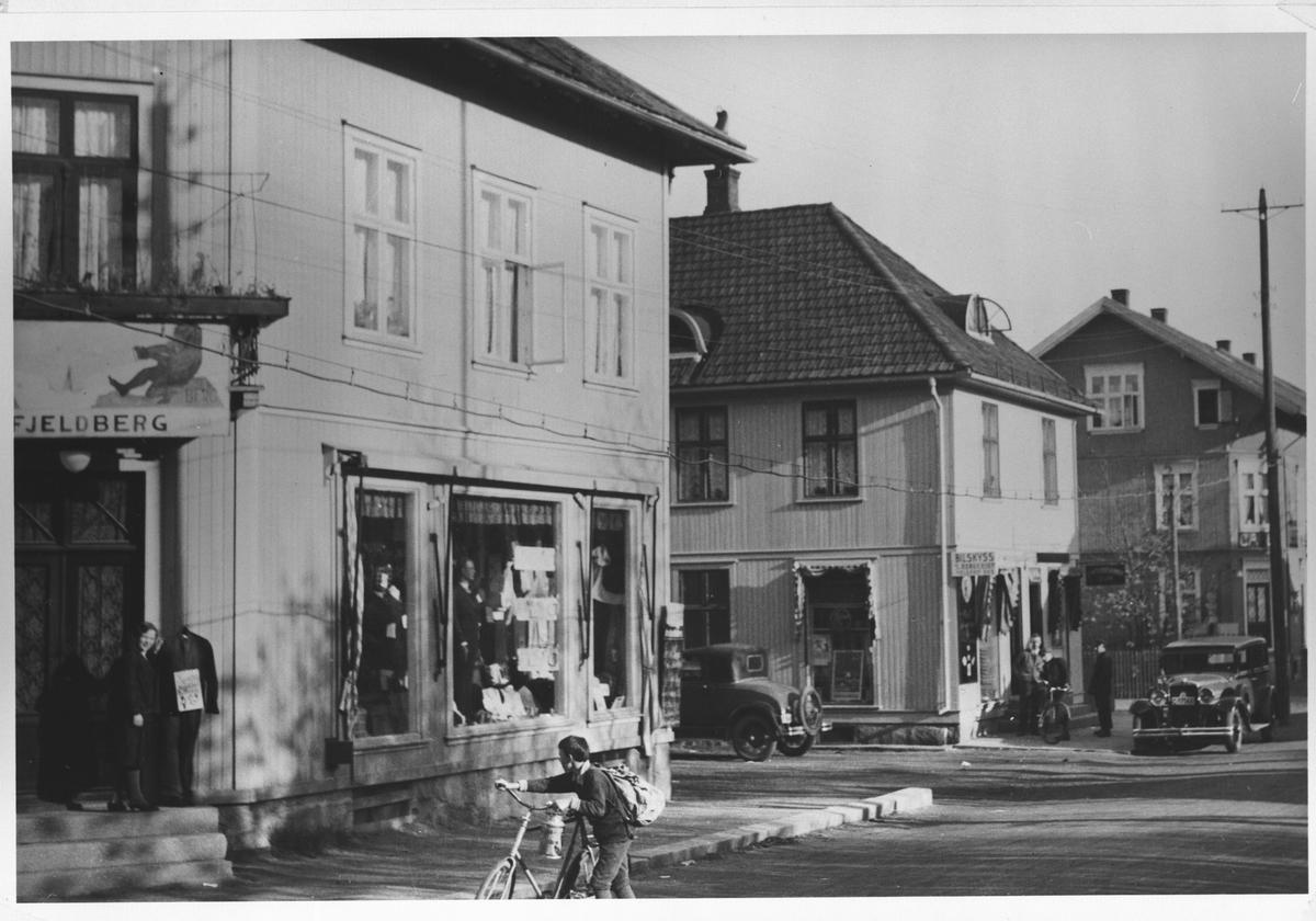 Fjeldberghjørnet i begynnelsen av 1930-årene.