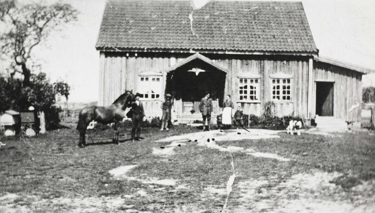 Hovedbygningen på Daltorp i ca 1930
