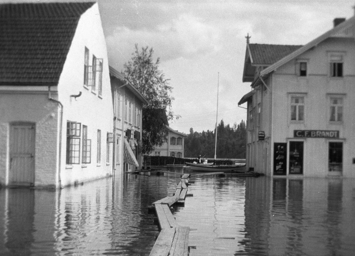 Flom i Sundet/Vorma i 1927.