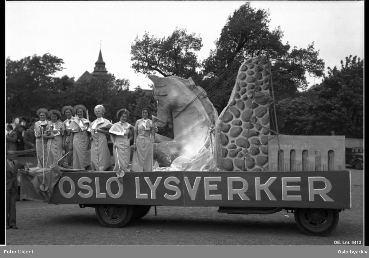 Oslo lysverkers bil, Oslodagene