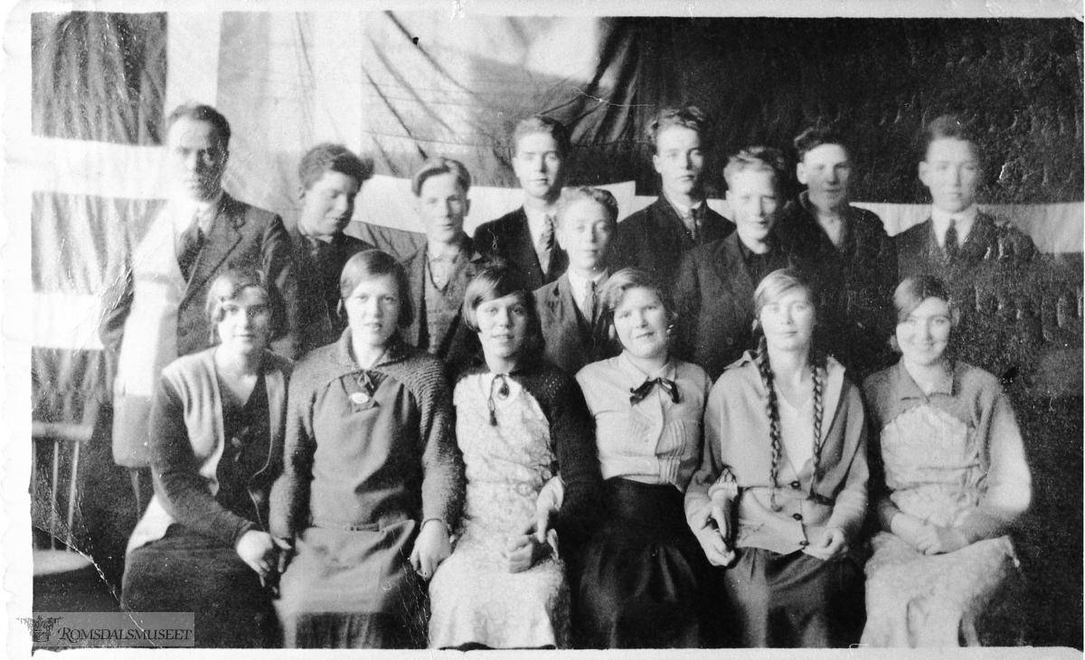 Idavoll Skule,framhaldskule 1932