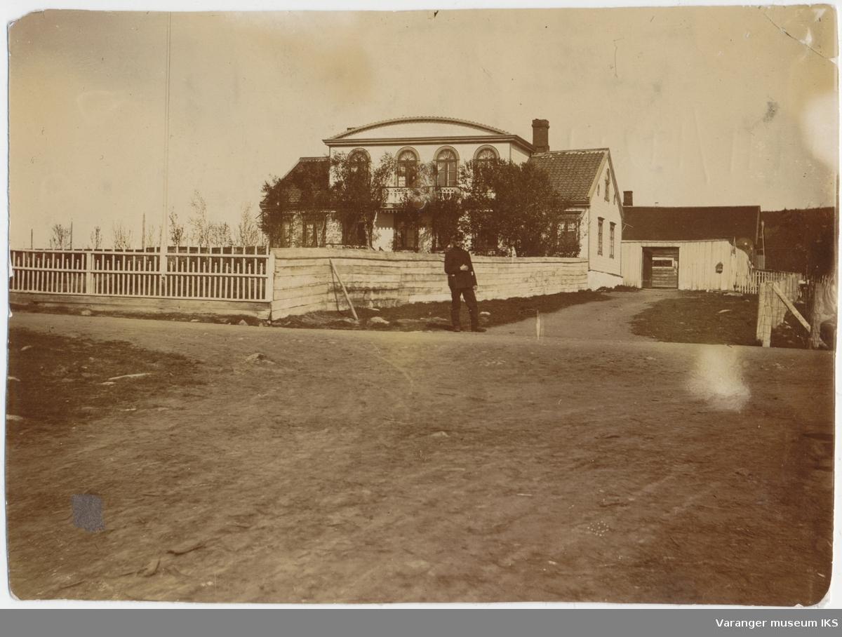 Pleym-gården i Nyborg, Varangerbotn, 1910