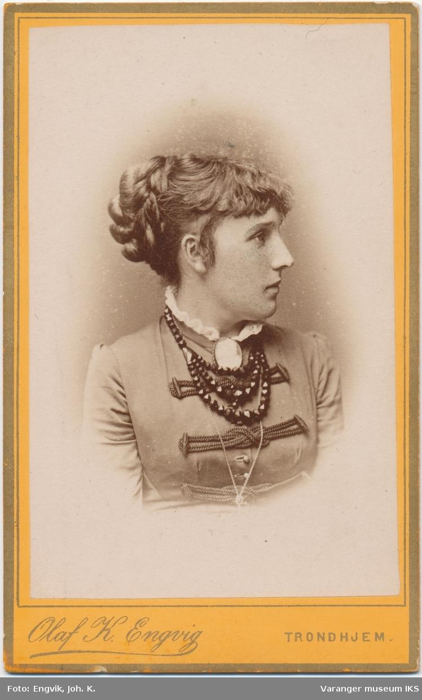 Portrett, Anna Margrethe Meyer, 1883