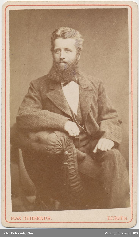 Portrett, Hans Fredrik Esbensen, 1879