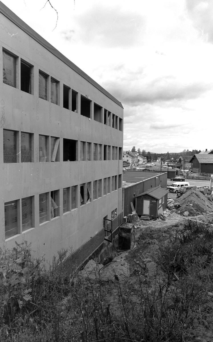 Område ved Markus under bygging