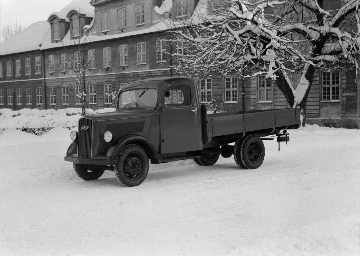 Opel Blitz lastebil fra A/S Anco