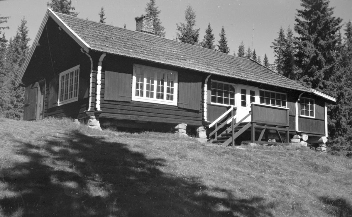 """Bråbæk """"rekreasjonshjem"""",  hytte ved Blæka seter i Ringsaker. ?"""