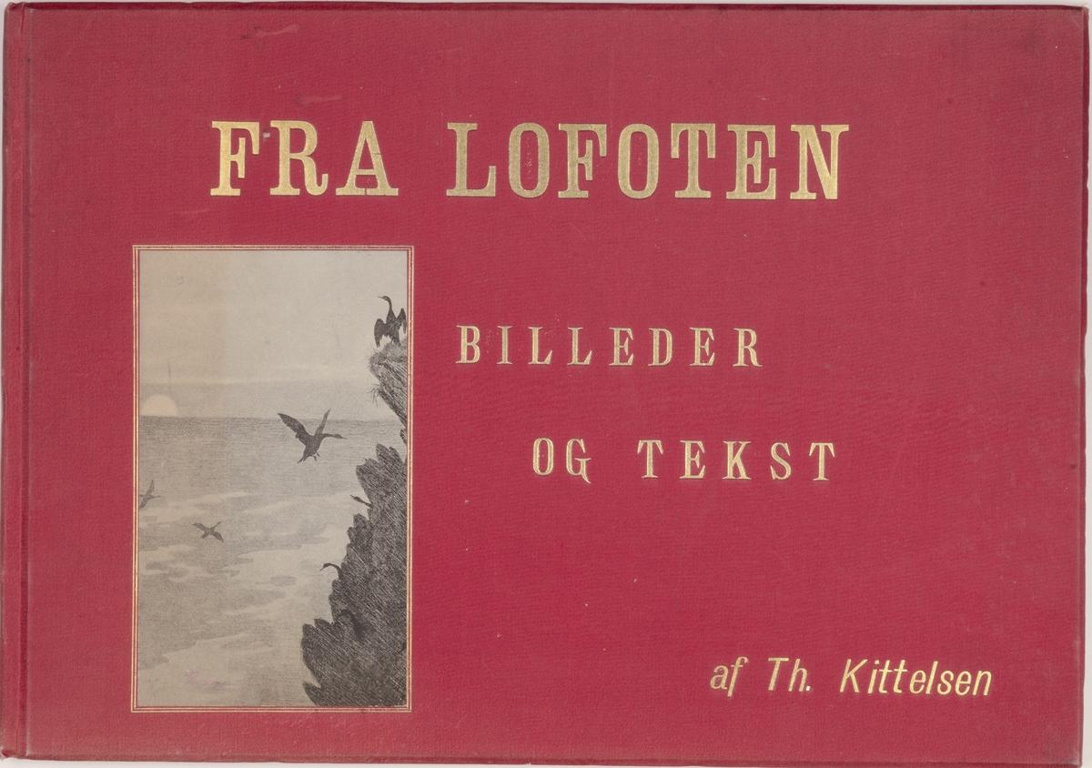 Fra Lofoten. Billeder og tekst [Bokkunst]