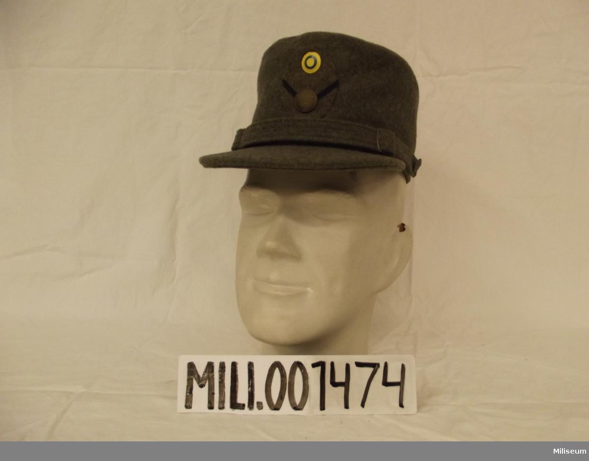 Vintermössa m/1950 för hemvärnsplutonchef, sergeants grad.