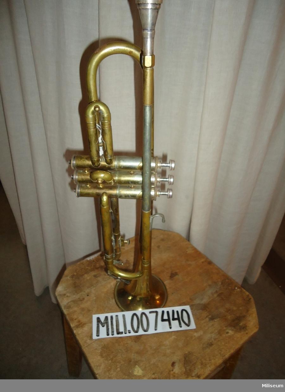 Trumpet, Ing 1 musikkår.