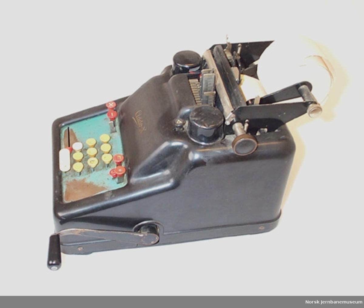 Regnemaskin Addo X, mekanisk