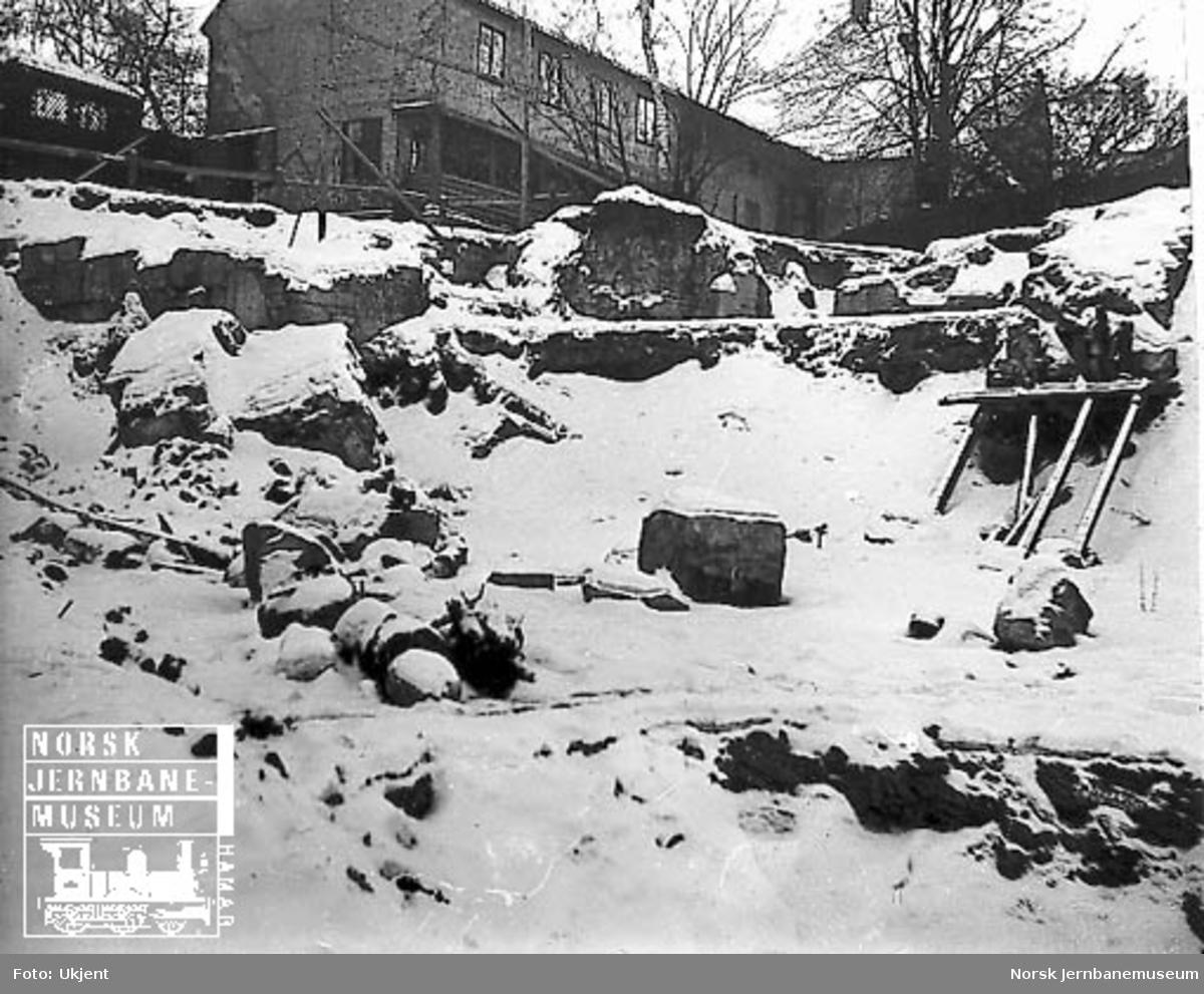 Ruiner i Oslo Ladegårds hage