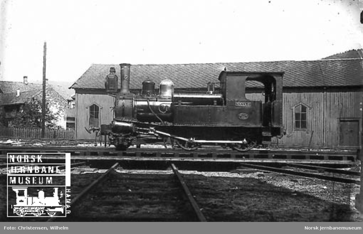 """Damplokomotiv type V nr. 62 """"Skuld"""""""