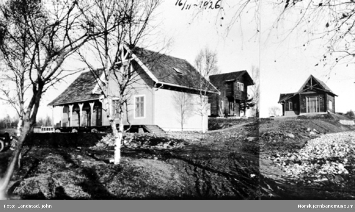 Jernbanemuseet på Disen : Kløften, Bestum og Ilseng stasjonsbygninger