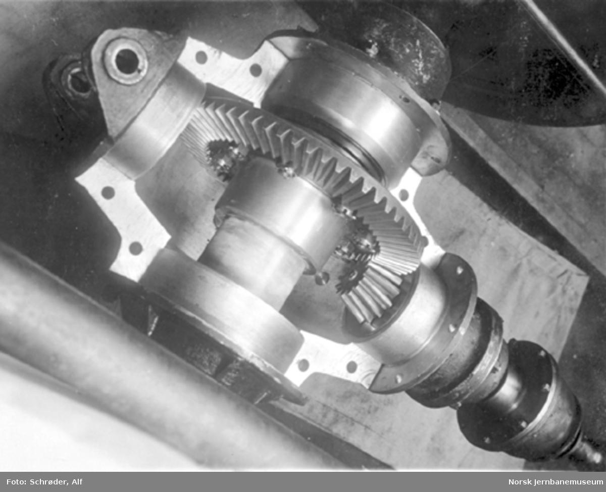 Smalsporet motorvogn litra Cm type 1; akseldrev