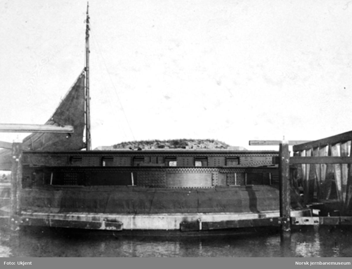 Anlegg av svingbru ved Gauda