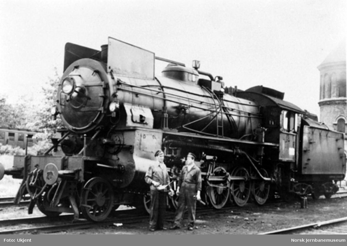 Damplokomotiv type 31b nr. 451