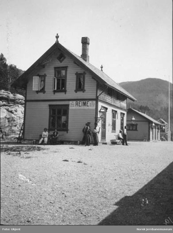 Reimegrend (Reime) stasjonsbygning