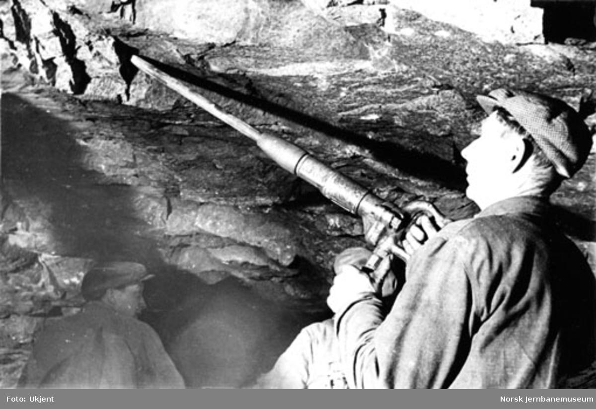 Lamellutmuring av tunneler : kilemaskin